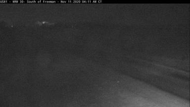 Freeman - 4 miles south of town along US-81 @ MP 30 - Camera Looking South - South Dakota