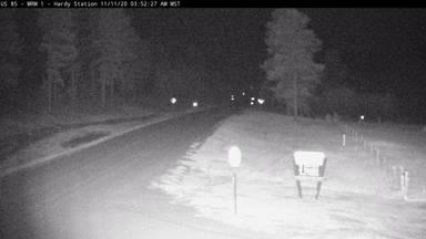 Hardy Station - Near WY border along US-85 @ MP 2.5 - Camera Looking South - South Dakota