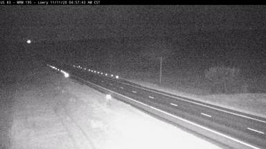 Lowry - west of town US-83 @ MP 195 - Camera Looking North - South Dakota
