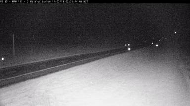 Ludlow - 2 miles north of town along US-85 2 MP 150.1 - Camera Looking South - South Dakota