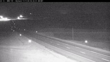 Midland - 1 mile east of town along US-14 @ MP 170 - Camera Looking West - South Dakota