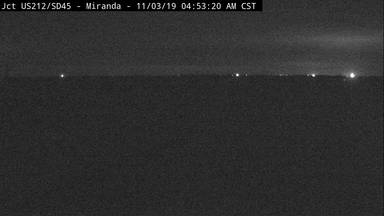 Miranda - 5 miles south of town at junction US-212 & SD-45 - Camera Looking East - South Dakota