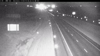 Mitchell - East of town along I-90 @ MP 333.8 - Camera Looking East - South Dakota