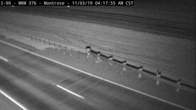 Montrose - 3 miles west of Humboldt along I-90 @ MP 376.0 - Camera Looking South - South Dakota
