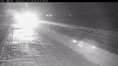 Plankinton - I-90 @ MP 304 - Camera Looking East - South Dakota
