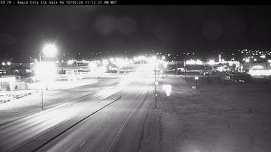 Rapid City - East of town along US-16B/Elk Vale Rd south of I-90 exit 61 - Camera Looking North - South Dakota
