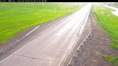 Red Elm - US-212 @ MP 126 - Camera Looking Northeast - South Dakota