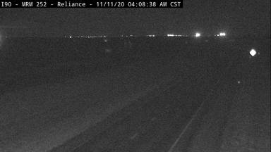 Reliance - Southeast of town along I-90 @ MP 251 - Camera Looking East - South Dakota