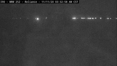Reliance - Southeast of town along I-90 @ MP 251 - Camera Looking West - South Dakota
