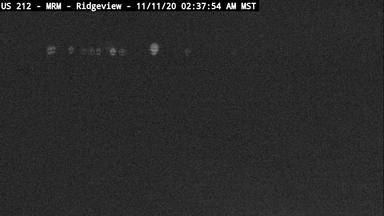 Ridgeview - US-212 @ BIA 3 - Camera Looking East - South Dakota