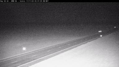 Scenic - 2 miles west of town along SD-44 @ MP 84 - Camera Looking East - South Dakota