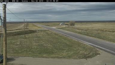 Scenic - 2 miles west of town along SD-44 @ MP 84 - Camera Looking West - South Dakota