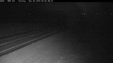 Tolstoy - South of town along SD-20 @ MP 265.7 - Camera Looking East - South Dakota
