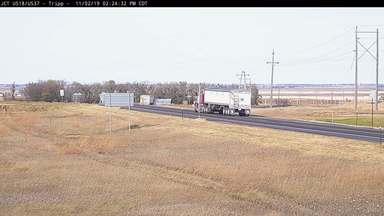 Tripp - SD-37 & US-18 - Camera Looking North - South Dakota