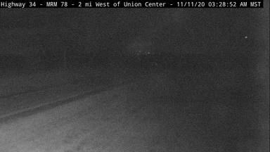Union Center - 2 miles west of town along SD-34 and MP 78 - Camera Looking West - South Dakota