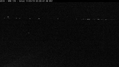 Vetal - 10 miles east of town along US-18 @ MP 178 - Camera Looking East - South Dakota