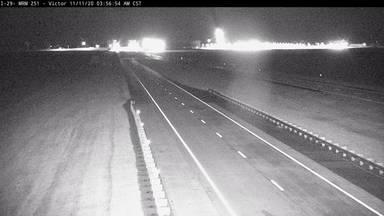 Victor - North of town along I-29 @ MP 251.5 - Camera Looking North - South Dakota