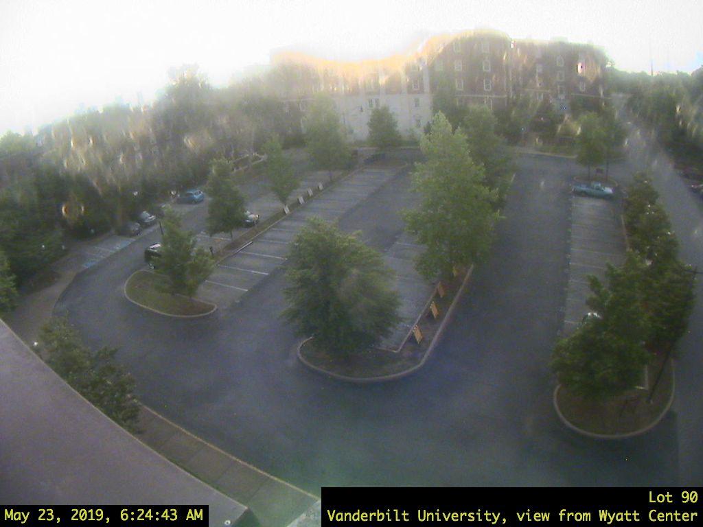 Vanderbilt University, Parking Lot 90 at V.U. in Nashville - Tennessee