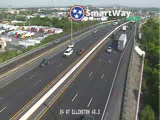 I-24 WB @ Ellington Parkway (MM 48.17) (R3-006) (55) - Tennessee