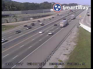 I-40 WB @ White Bridge Road (MM 203.95) (R3_051) (104) - Tennessee