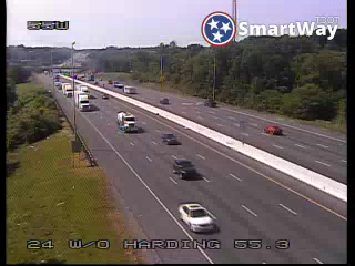 I-24 WB @ Harding Place (MM 55.32) (R3_055) (145) - Tennessee