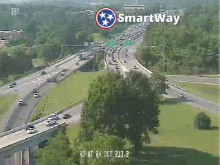 I-40 WB @ I-24 Junction ((no effective MM)) (R3_058) (174) - Tennessee