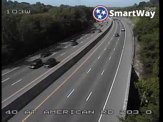 I-40 WB @ American Road (MM 202.97) (R3_103) (224) - Tennessee
