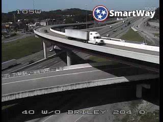 I-40 WB @ Briley Parkway (MM 204.02) (R3_105) (245) - Tennessee