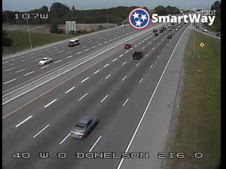 I-40 WB  w/o Donelson Pike (MM 216.36) (R3_107) (264) - Tennessee