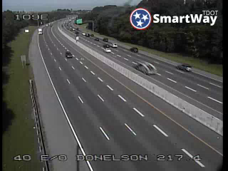 I-40 EB e/o Donelson Pike (MM 217.72) (R3_109) (284) - Tennessee