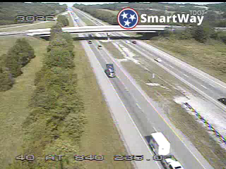 I-40 @ SR 840  () (R3_302) (303) - Tennessee