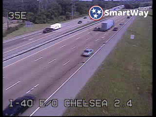 I-40 East of Chelsea Ave. (348) - Tennessee