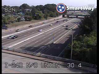 I-240 north of Union Av. (365) - Tennessee