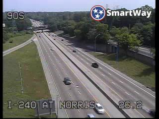 I-240 north I-55 Jct. (383) - Tennessee