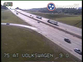 I-75 @ North of Volkswagen Drive (834) - Tennessee