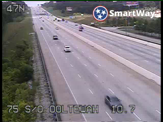 I-75 South of Ooltewah exit (836) - Tennessee