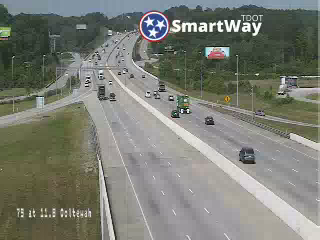 I-75 @ Ooltewah exit (837) - Tennessee