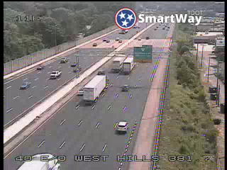 I-40/75 @ East of West Hills (923) - Tennessee