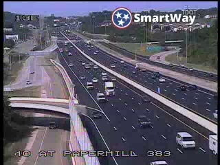 I-40/75 @ Papermill Rd (925) - Tennessee