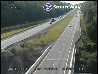 I-40 East @ 363.9 Mile Marker (2722) - Tennessee