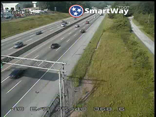 I-40 West @ 368.6 Mile Marker (2724) - Tennessee