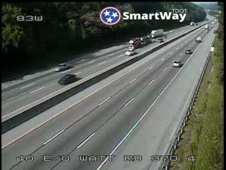 I-40 West @ 370.5 Mile Marker (2725) - Tennessee