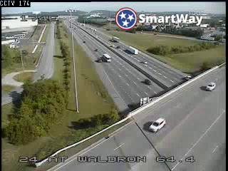 I-24 @ MM 64, Waldron Rd (3625) - Tennessee