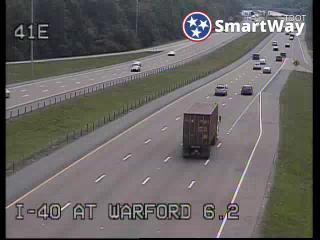 I-40 @ Warford (384) - Tennessee