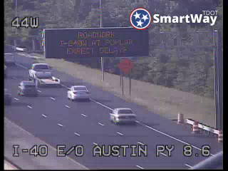 I-40 east ofJackson Ave. (390) - Tennessee
