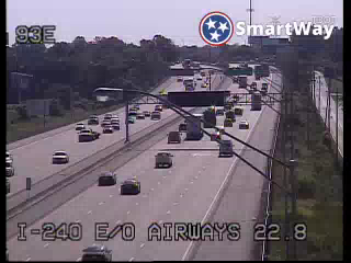 I-240 bt. Airways and Lamar (406) - Tennessee