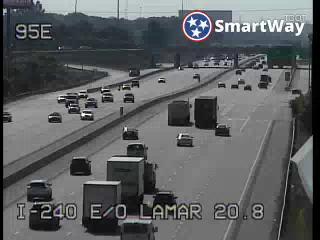 I-240 bt. Lamar & Getwell (408) - Tennessee