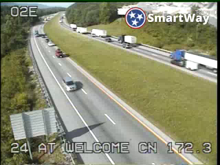 I-24 East of I-24 Welcome Center (642) - Tennessee