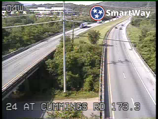 I-24 @ Cummings Rd (644) - Tennessee