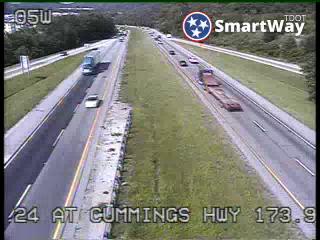 I-24 @ Cummings Hwy (645) - Tennessee